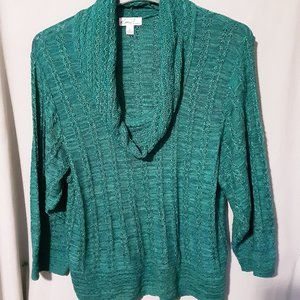SWEATER BY KIM ROGERS SIZE L